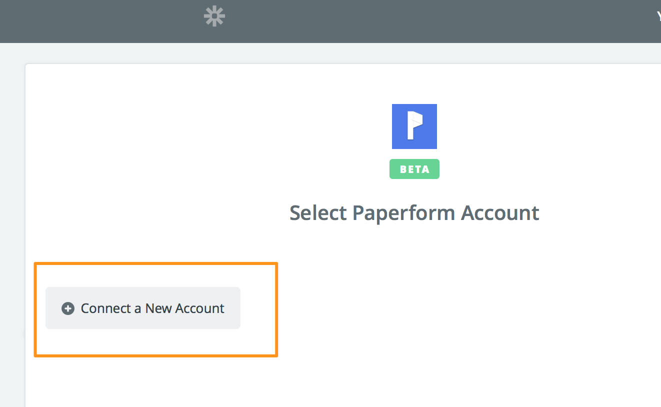 Login to the Paperform dashboard